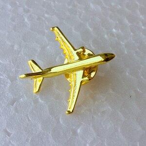 Image 1 - Odznaka Airbus A 321, Metal, srebro, broszka w kształcie samolotu, specjalna upominek z pamiątkami dla załogi Filght Pilot Avaiton Lover