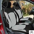 Tampa de assento do carro especial para Citroen c2 c3 c4 c5 dreno PRETO/CINZA/VERMELHO acessórios do carro