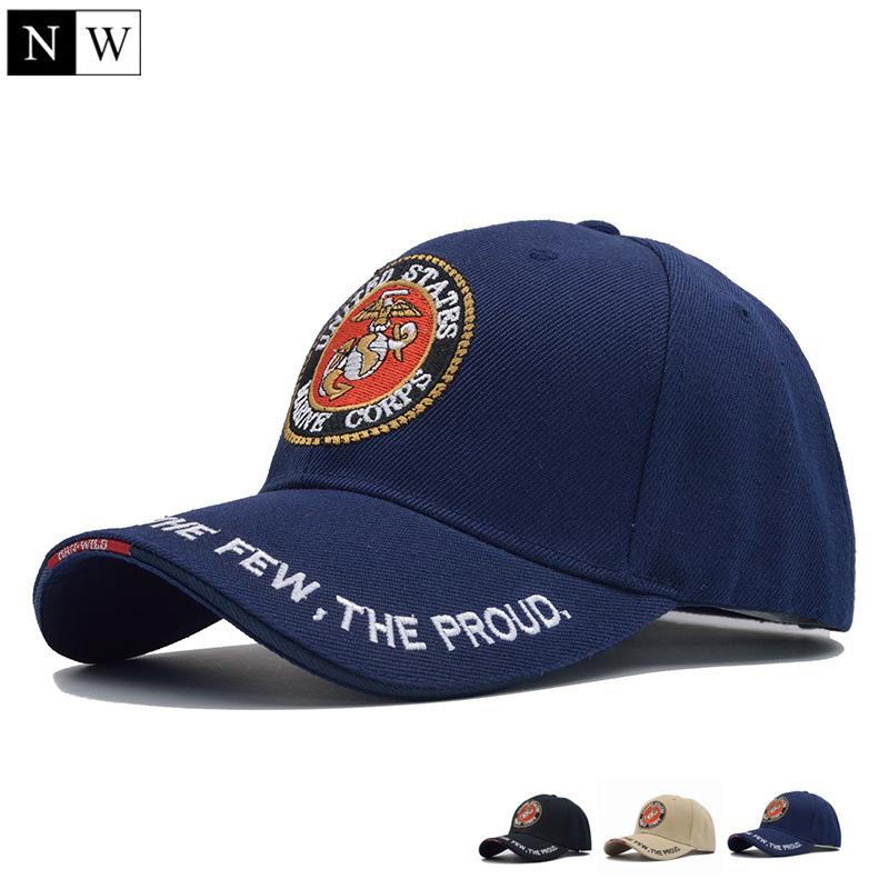 [NORTHWOOD] 2017 United States Marine Corps Tactical Bone Baseball Cap Men Navy Seals Hat For Adult Size 56-59cm