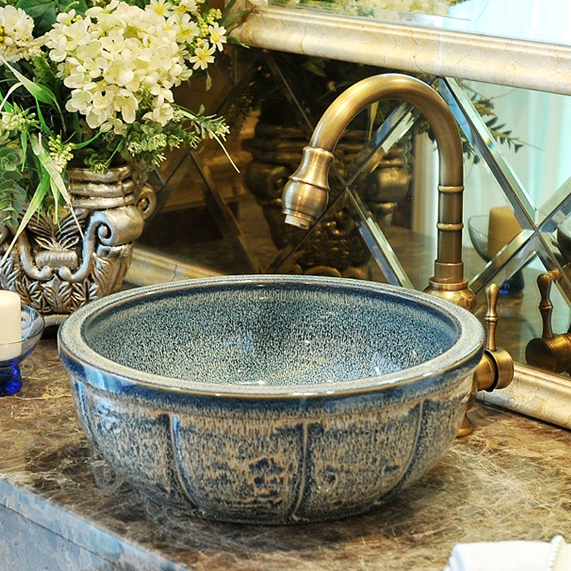 Permalink to Glazed porcelain bathroom vanity bathroom sink bowl countertop Oval Ceramic bathroom sink wash basin ceramic vessel sink