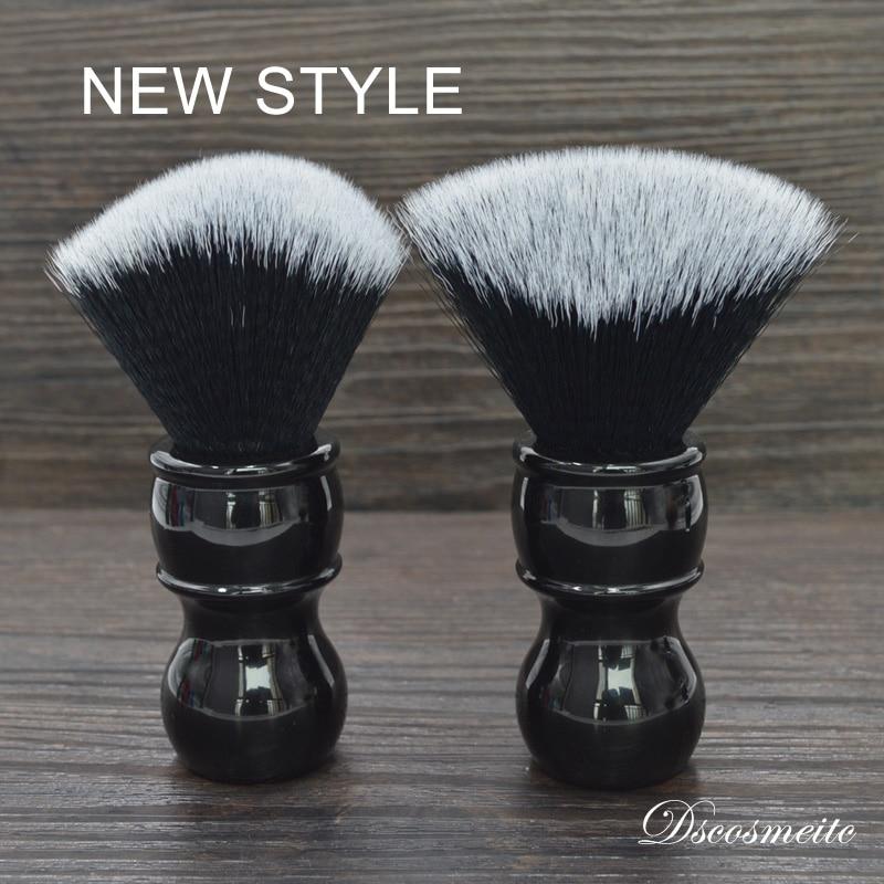 Dscosmetic 24mm Captain New Shape Synthetic Hair Shaving Brush For Man Soft Hair Facial Cleaning Brush Wet Shaving Brush