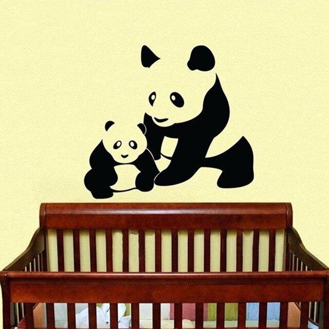 1281 25 De Descuentoenvío Gratis Tamaño Grande 9691 Cm Pandas Lindos Animales Decalque De Pared Vinilo Adhesivos De Pared Arte Adhesivo