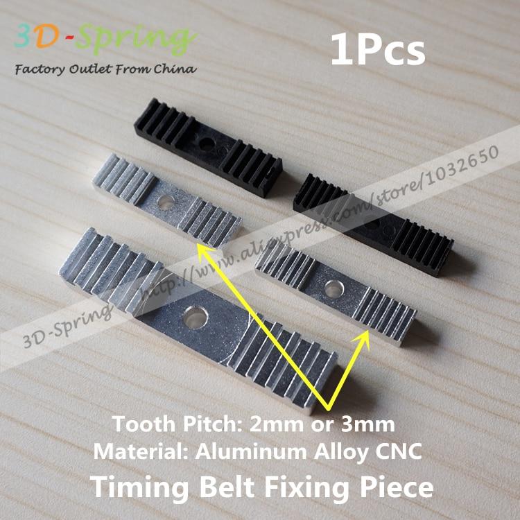 Gear Fixed Holder Backet Aluminum 9*40mm For 2GT Timing Belt Reprap 3D Printe US