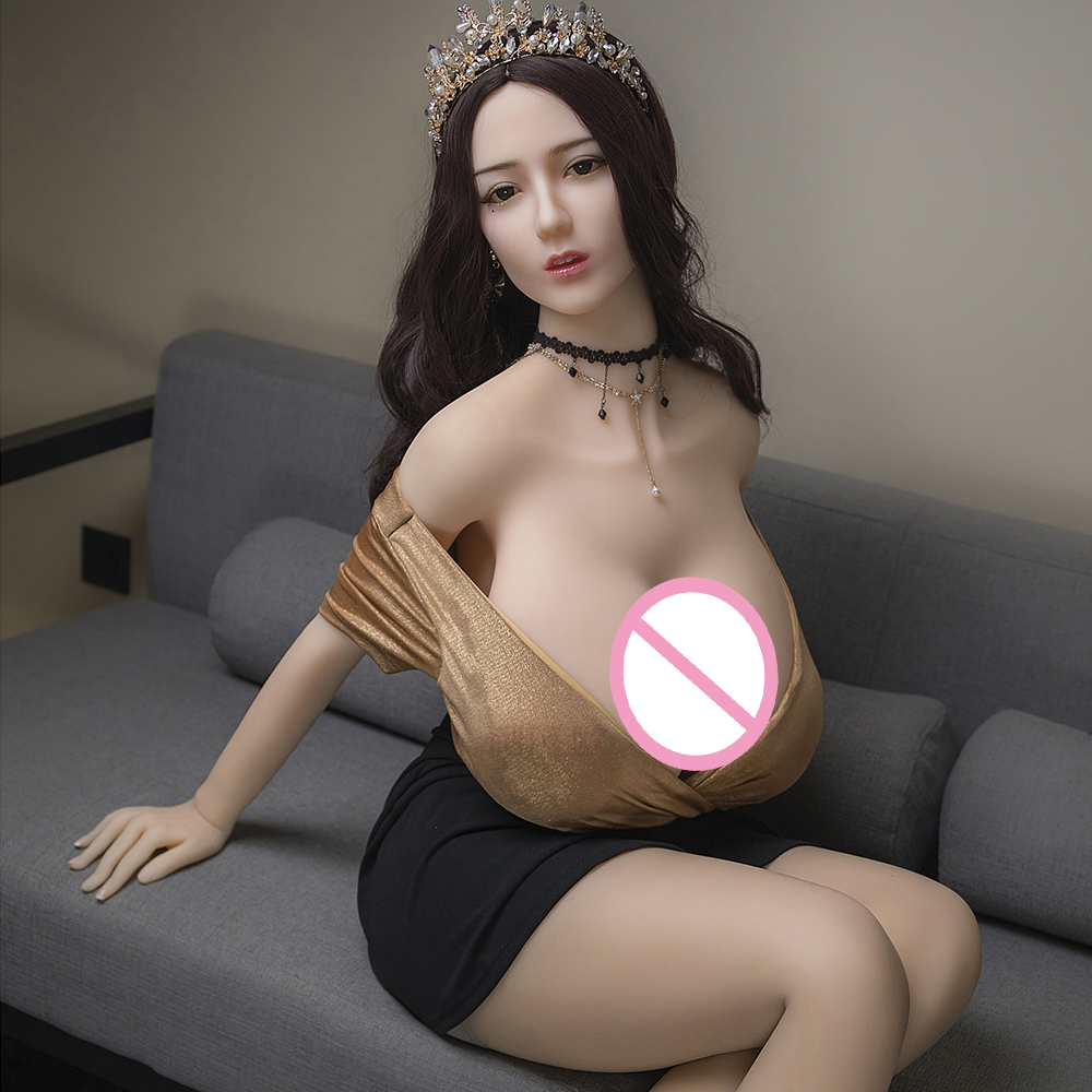 Cosdoll Free Shipping 168cm Realistic Big Breast Super Body Premium TPE Silicone Love <font><b>Sex</b></font> <font><b>Dolls</b></font> image