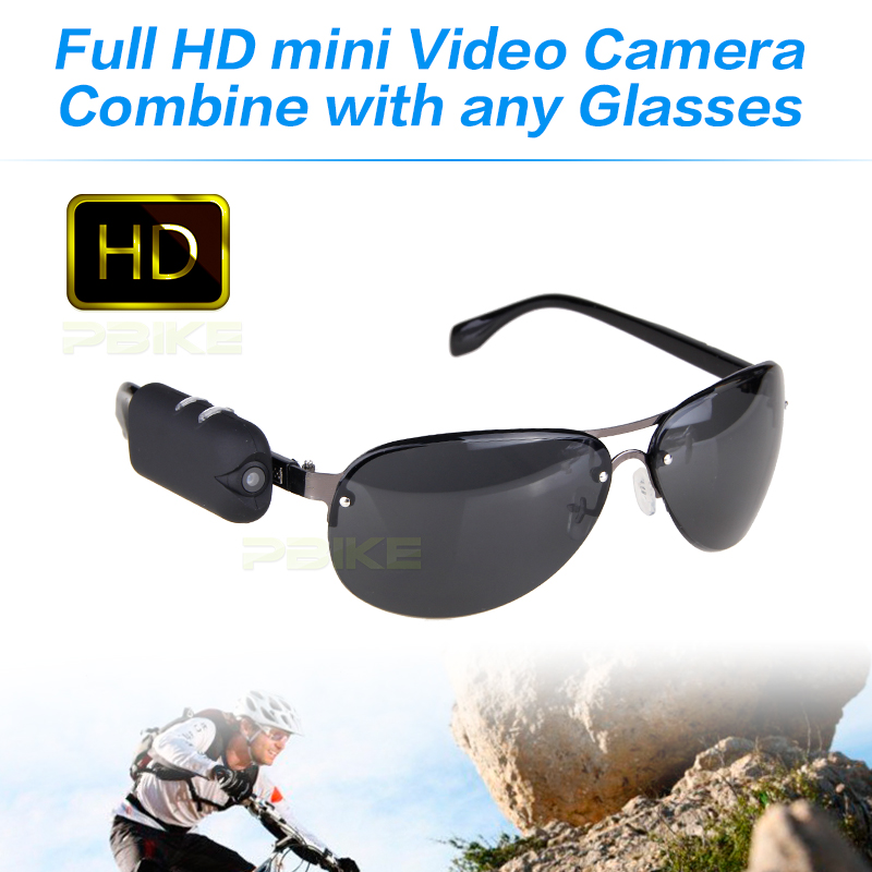 2018 NEW HD 1920*1080 camera with any bicycle glasses sports video camcorder mini dv Wearable Vidicon on the glasses legs 30fps
