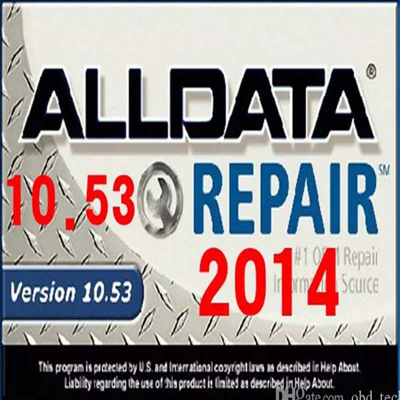 Auto Software Alldata + Mitchell On Demand + ATSG All Data 10.53 With 1TB HDD Installed well In E6420 Laptop Windows7