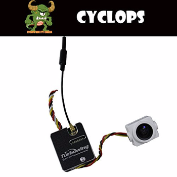 F-Cloud TURBOWING CYCLOPS 700tvl Nstc Pal Switch Fpv Camera with 19mm Width Shell and 25mw 200mw Transmitter Support Smart Audio