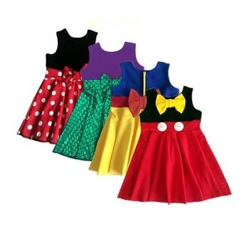 Filles vêtements enfants vêtements fille peppa de licorne robe petite robe adolescent robe filles clothes8years 10 ans princesse des douanes