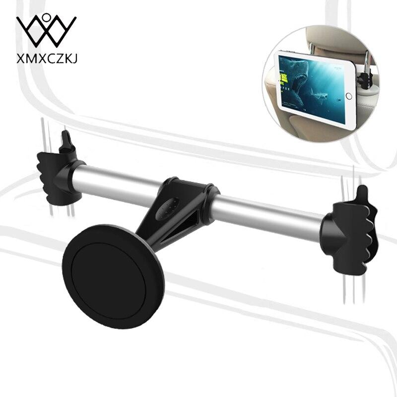 XMXCZKJ Magnete Auto Sedile Posteriore Del Telefono Tablet PC Del Supporto Del Basamento Auto Poggiatesta Mount Magnetica del Supporto Per Il Telefono Mobile Del Basamento in auto