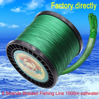 Daoud 8 Strands Braided Fishing line 1000m Super Strong Japanese Multifilament PE braid line 100LB 200LB цена 2017
