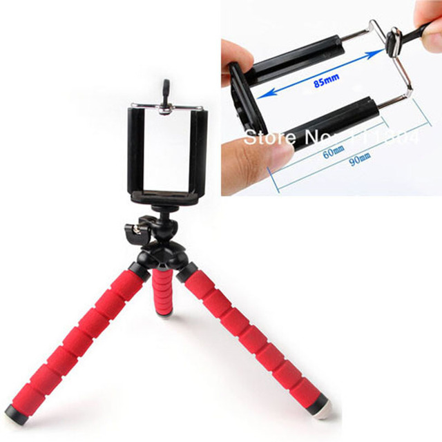 Flexible Tripod Bracket Stand Phone Camera Holder