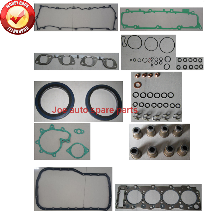 Fashion Style 4he1 4he1t 4he1-t Engine Full Gasket Set Kit For Isuzu Nqr500 4.75l 1998 Delicious In Taste Gaskets