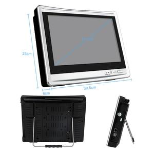 "Image 3 - Techage 8ch 1080 p 2mp 12 ""monitor lcd sem fio nvr wi fi sistema de câmera ip áudio vigilância vídeo à prova dwaterproof água cctv kit segurança"