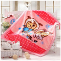 Free shipping raschel thickening double layer child blanket baby blanket 110x130cm 1200g
