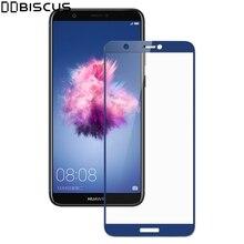 หน้าจอเต็มรูปแบบ Protector สำหรับ Huawei P Smart ป้องกัน PSmart FIG LX1 FIG LX2 FIG LX3 FIG LA1 FIG LX1 9H แก้ว