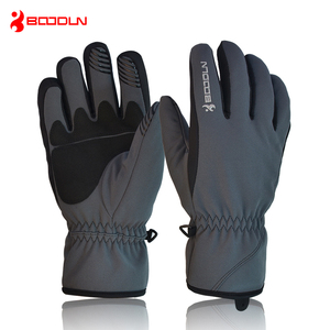 Image 3 - BOODUN Men Women Ski Gloves Winter Thermal Fleece Warm Breathable Snowboard Sports Windproof Waterproof Snow Skiing Gloves