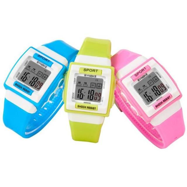 Hot Sale Luminous Watches Kid Children Boy Girl Student Digital Minimalist Watch
