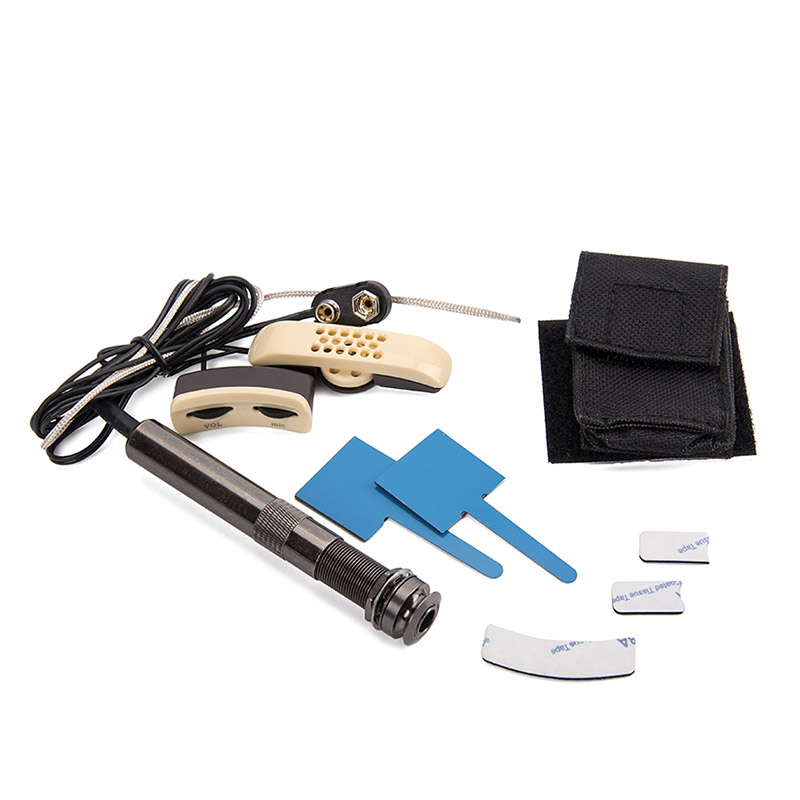 Guitare acoustique trou sonore pick-up Instrument de musique accessoire Portable pour les mélomanes YA88