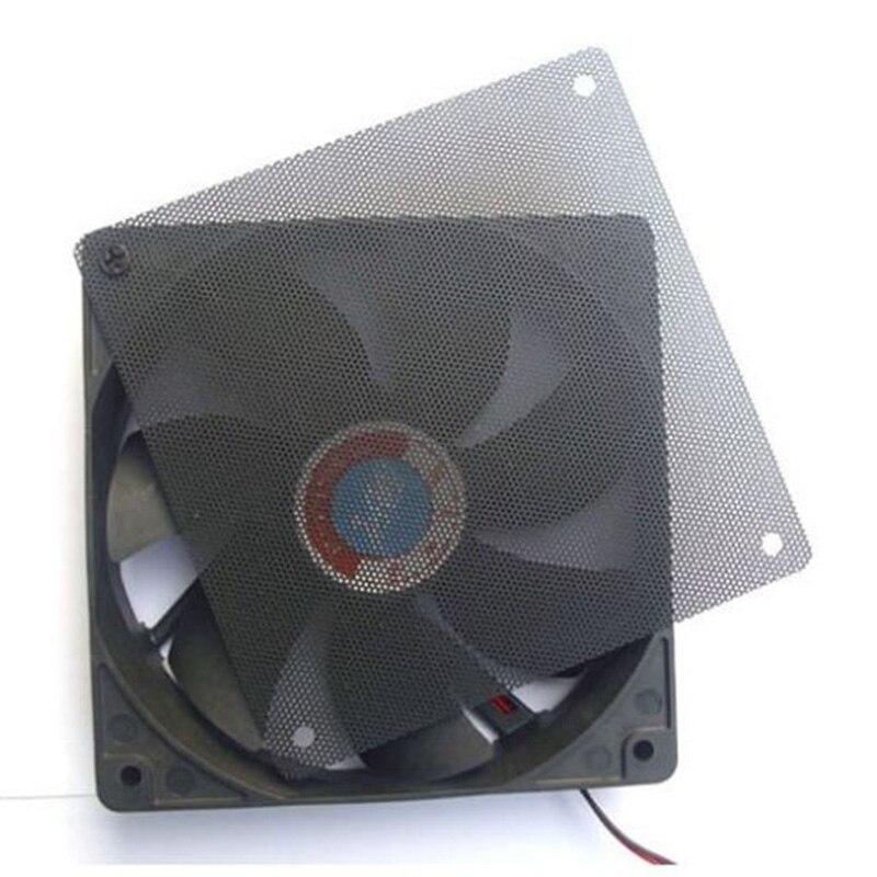 1 шт. 120x120 мм Компьютер ПК пылезащитный вентилятор чехол пылезащитный Пылезащитный фильтр cutable Mesh подходит для стандартных вентиляторов 120 м...