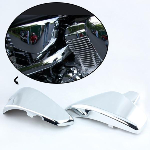 Мотоцикл Сторона крышки батареи для Хонда Вт 600 тень vlx Делюкс Стид 400 600 1988 1990 1997 Стид 400VLS 1998 Хромирования