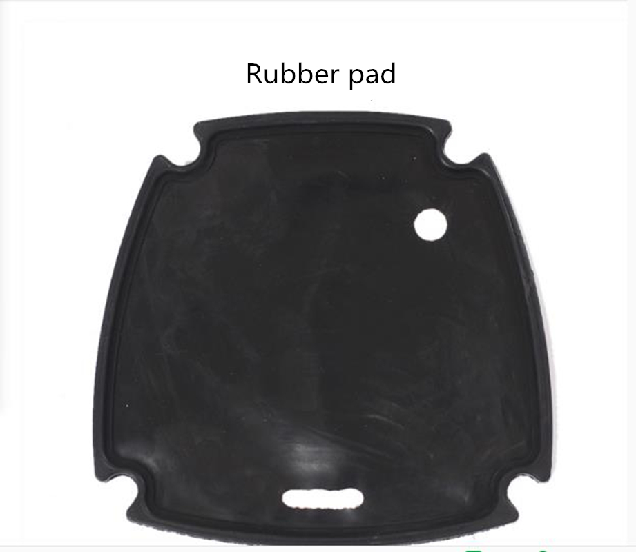 PCP Single/double Cylinder Air Compressor Front Cover Rubber Pad  1piece/order