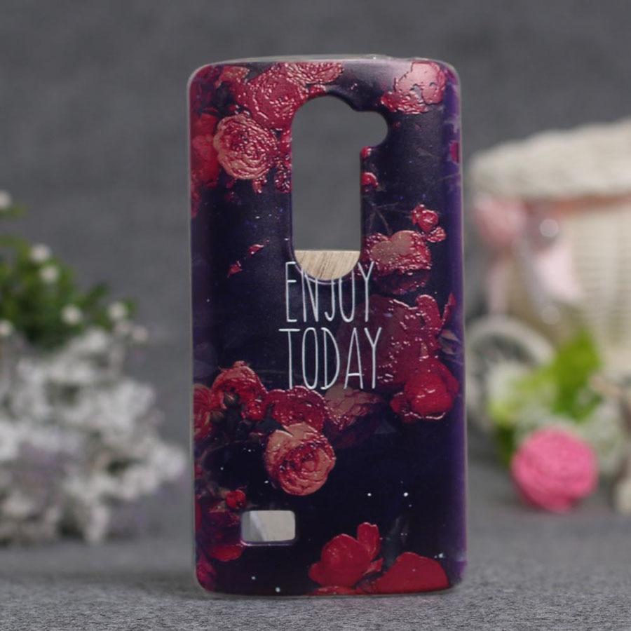 Luxus 3D-Stil Cartoon Blume Rückseite Soft TPU Fall für LG LEON 4G - Handy-Zubehör und Ersatzteile - Foto 4
