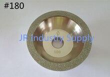 #180 Cup-Shaped Diamond grinding wheel 100D*10W*5U*20H*35T 1pcs