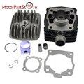Air Cool Engine Cylinder Piston Rings Gasket Rebulid Kit for KTM50 KTM 50SX 50 SX JR SR Air-Cooling Mini Motor Dirt Bike Parts