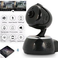 WIFI Camera 1080P HD Bedroom Camera Infrared IR Video Recorder 3.6MM Lens Premium Night Vision Cam Webcam Support 64GB TF
