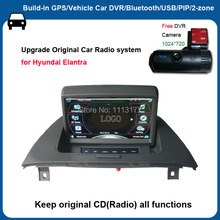 7 inch Touch screen Win ce 6.0 system car audio video player for Hyundai Elantra