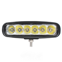 6 Inch 30W LED Work Light For Cree Chips Indicators Motorcycle Driving Offroad Boat Car Tractor