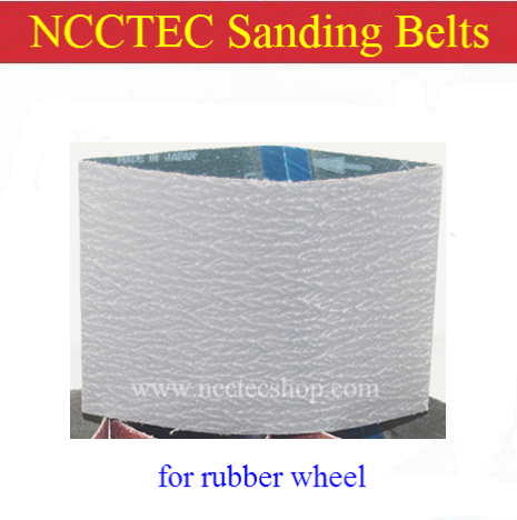 grit 120 FUSED ZIRCONIA ALUMINA sanding belt | Stainless steel wire drawing brush abrasive sandpaper for install in rubber wheel