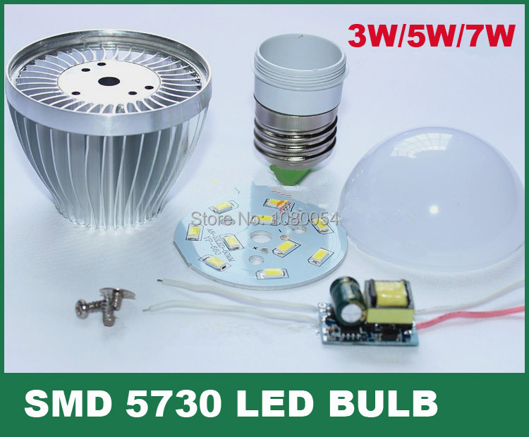 Aluminum bulbs e27 e14 3w 5w 7w 9w 12w led bulb shell kit driver aluminum bulbs e27 e14 3w 5w 7w 9w 12w led bulb shell kit driver 5730smd pcb heatsink led parts for bulb lamps improved in led bulbs tubes from lights mozeypictures Gallery