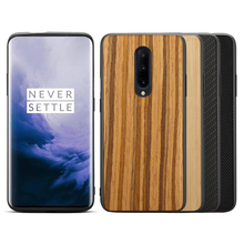 Wooden Phone Case on for OnePlus 7 Pro Cover Coque One Plus 7Pro Plus 7Plus Protect Cases Slim Cover Protection Fundas Shell