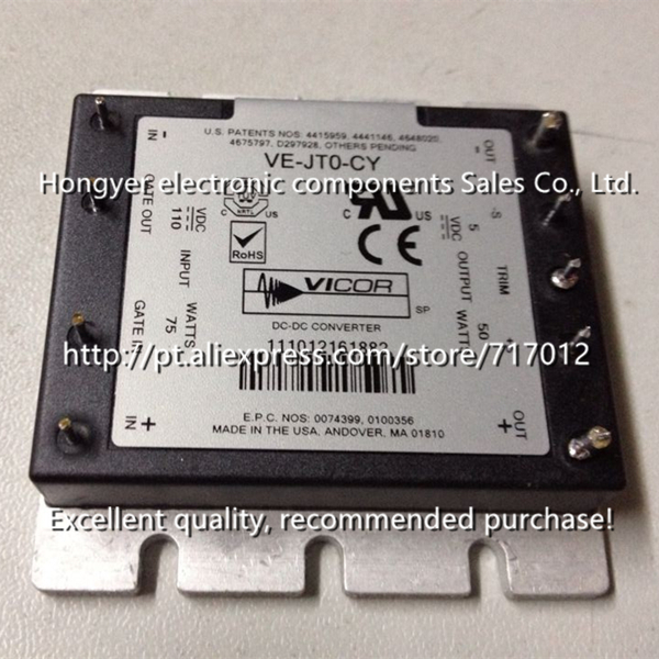 Free Shipping VI-JT0-CY DC/DC: 110V-5V-50W new product(Good quality) vi j50 cy 150v 5v 50w dc dc power supply module