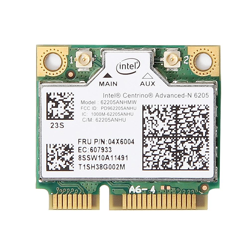 Intel Centrino Advanced-N 6205 62205HMW Wireless 300Mbps Wifi PCIe Card For IBM Lenovo Thinkpad X220 X220i T420 60Y3253