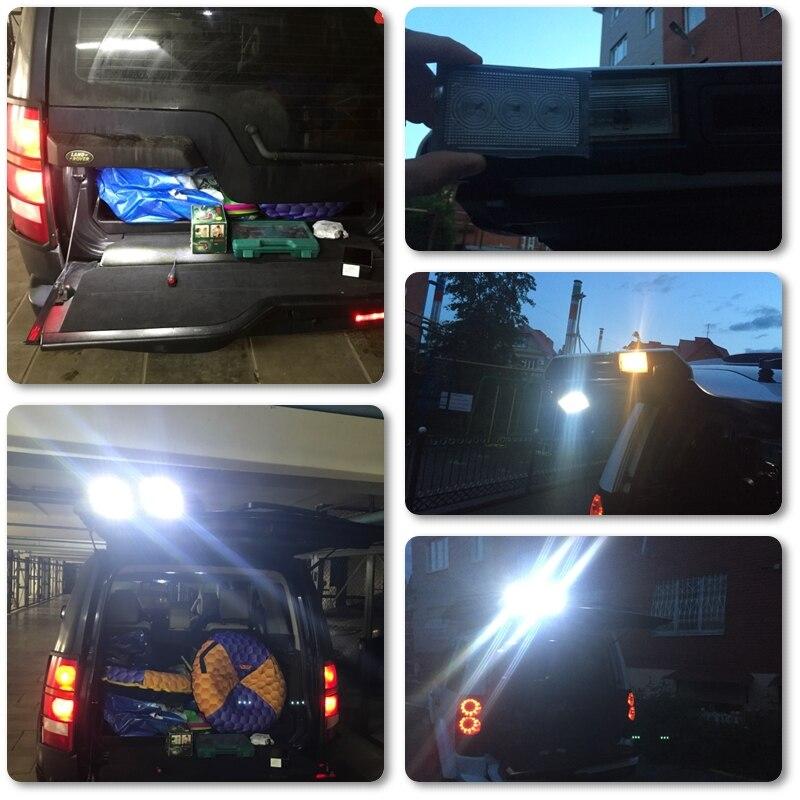 Luce del tronco SMD LED Xenon Bianco errore Can-bus gratuito adatto per Renegade