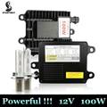 High Quality Xenon HID 100W Kit h1 h3 h4 h7 h11 hb3 9005 hb4 9006 4300k 5000k 6000k 8000k 10000k 100W Hid Car Headlight