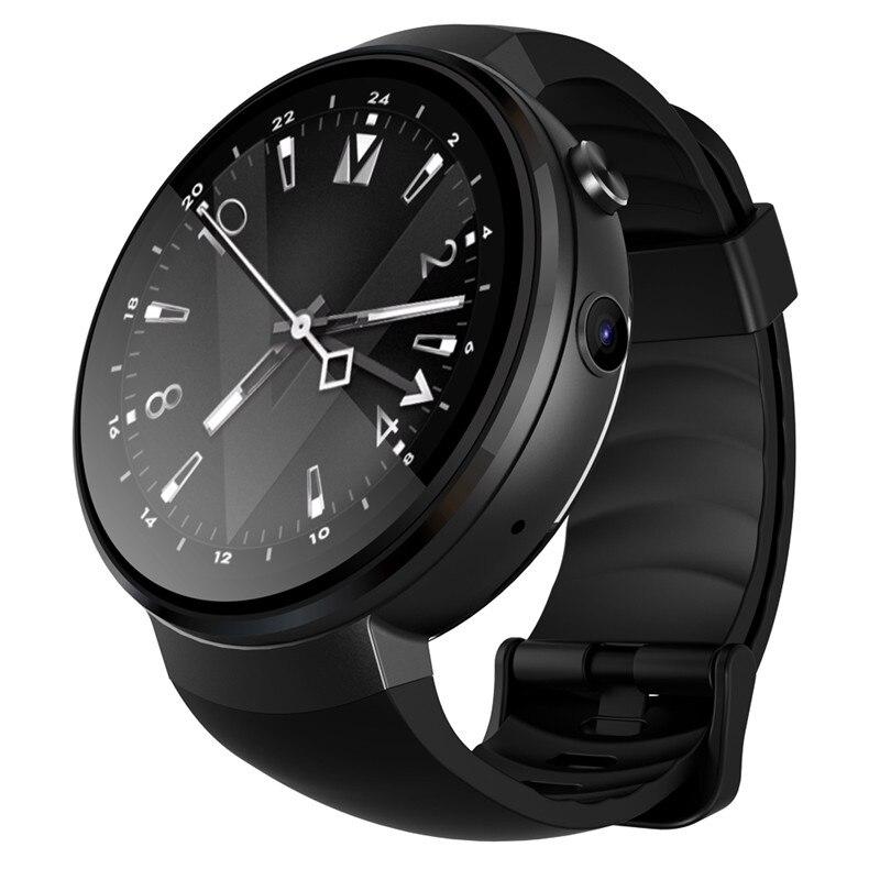 4G Смарт часы Android 7,0 1 GB + 16 GB gps 2MP Камера 1,39 дюйма AMOLED Экран 580 Mah Батарея VS LEM8 для samsung gear s3