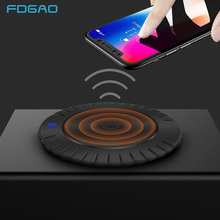 FDGAO Qi Wireless Charger Dock For iPhone 8 X XS MAX XR Fast