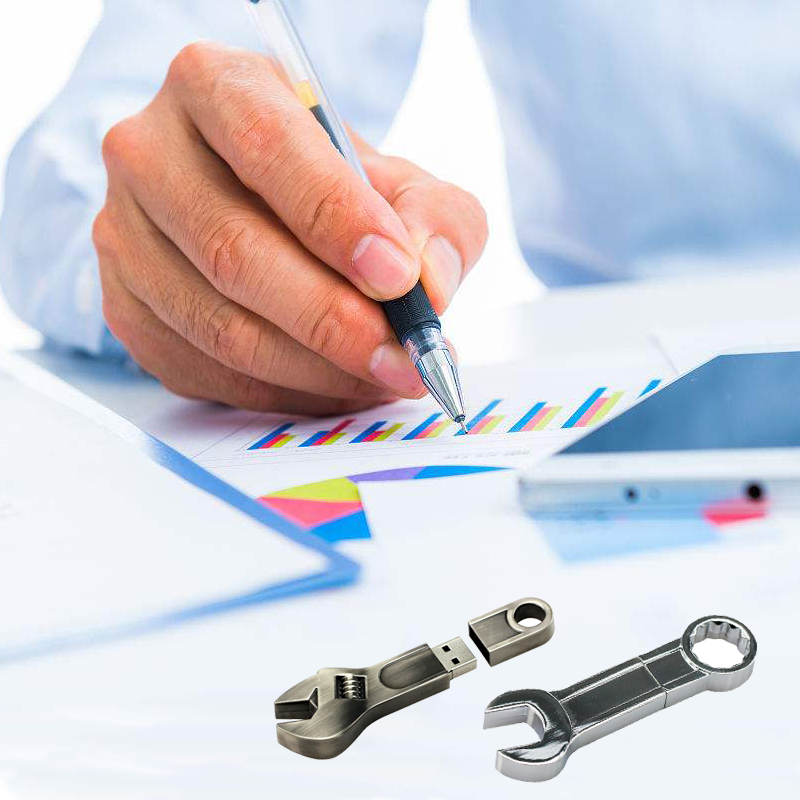 Anahtarı Aracı metal kalem sürücü usb flash 4 GB 8 GB 16 GB 32 - Harici Depolama - Fotoğraf 6