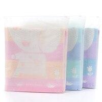 Bath towel recém-nascidos toalhas de banho dos desenhos animados de algodão macio toalha colcha crianças animal banho de toalhas para o banheiro 50a085