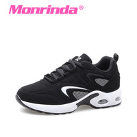 Monrinda Popular Sneakers Women 2017 Leather PU Sports Shoes For Female Outdoor Running Shoes Woman Deportivas