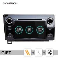 Xonrich Car Multimedia Player 2 Din Android 9.0 For Toyota Tundra Sequoia 2007 2008 2009 2010 2011 2012 2013 DVD Autoradio Wifi