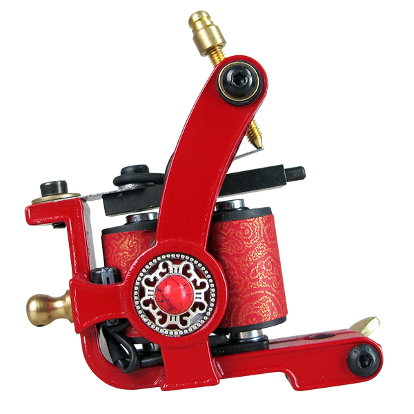 Solong Tattoo Complete Professional 2 Tattoo Machine Guns Set Tattoo Kit 54 Inks Power Supply Needle Grips Power Supply TKD01 in Tattoo Kits from Beauty Health