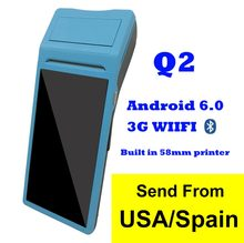 Q2 Gratis P.o.s Sistem Pos Gulsy User Android Pad dengan Printer Thermal 1G + 4G(China)