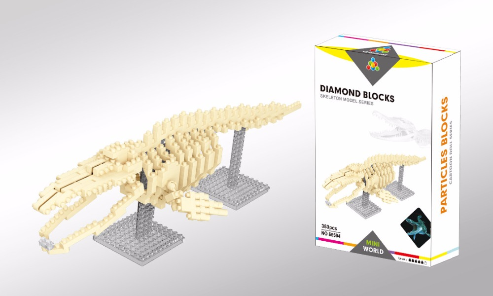 aliexpress : buy yz micro blocks dinosaur bones diy building, Skeleton