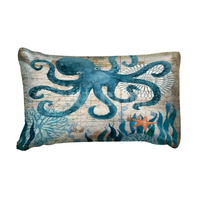 wong sbedding 3D squid sea duvet cover bedding set single twin full queen king size polyester bedlinen dropship in Bedding Sets from Home Garden