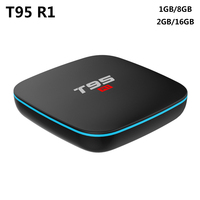 T95 R1 Android 7 1 TV BOX 2GB RAM 16GB ROM Amlogic S905W Quad Core 2