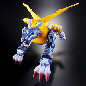 Image 5 - Bandai Digimon Mostro Originale Gabumon in Metallo Garurumon Action Figure Modello di Modifica Deformabile